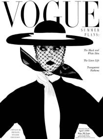 Irving Penn April 1, 1950 cover of Vogue magazine