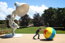 Pixar Studios and random guy :D