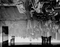Abelardo Morell's Manhattan View Looking South in Large Room 1996